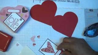 ClipNabber   download กล่อง Bitty กับPetal Dies ทำเป็นรูปหัวใจ