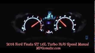 2014 Ford Fiesta ST 0-60 MPH