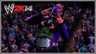 WWE 2K14 Jeff Hardy's Custom TNA Immortal Championship