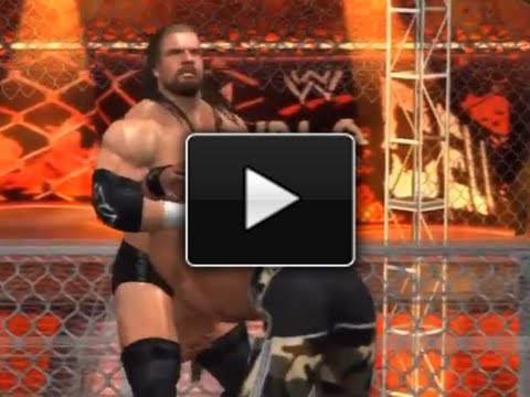 WWE SvR 2011: Shawn Michaels vs. Triple H - Hell in a Cell (Bad Blood 2004)