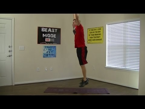 15 Minute Interval Training Workout - HASfit Hard Workout - Advanced Workouts - HIIT Exercises