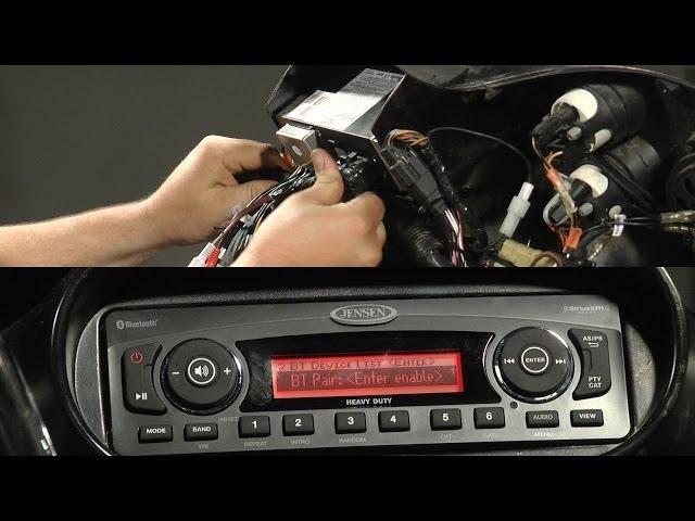 Jensen HD1BT Harley-Davidson Replacement Radio