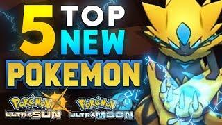 Top 5 NEW Pokémon in Ultra Sun and Ultra Moon! | Supra