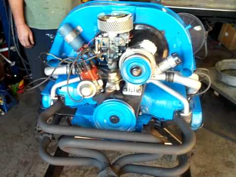 Vw Rebuilt 1600cc Turnkey Engine For Sale Youtube