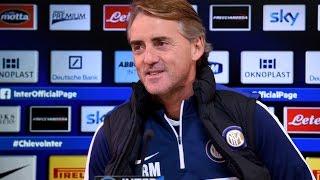 Live! Conferenza stampa Roberto Mancini prima di Inter-Lazio 20.12.2014 h:12:15