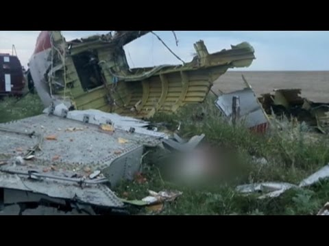 Investigating Downed Malaysia Airlines Jet