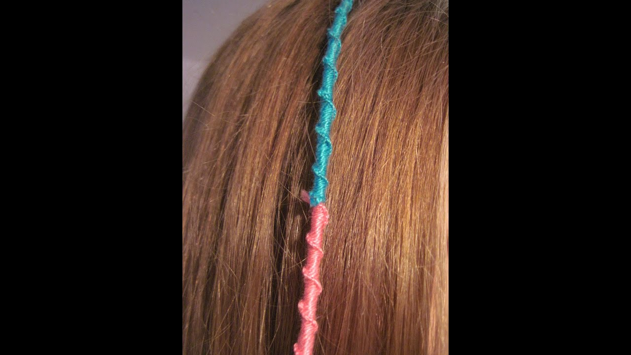 Hair Wrap Tutorial - YouTube