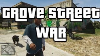 "GTA V Grove Street War ""GTA 5"" Grove Street"