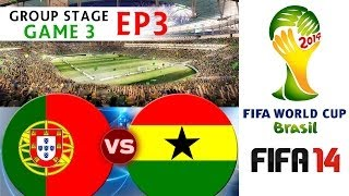 [TTB] 2014 FIFA World Cup Brazil Portugal Vs Ghana