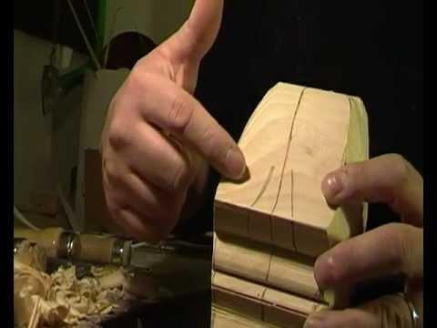 Scolpire il legno tecnica