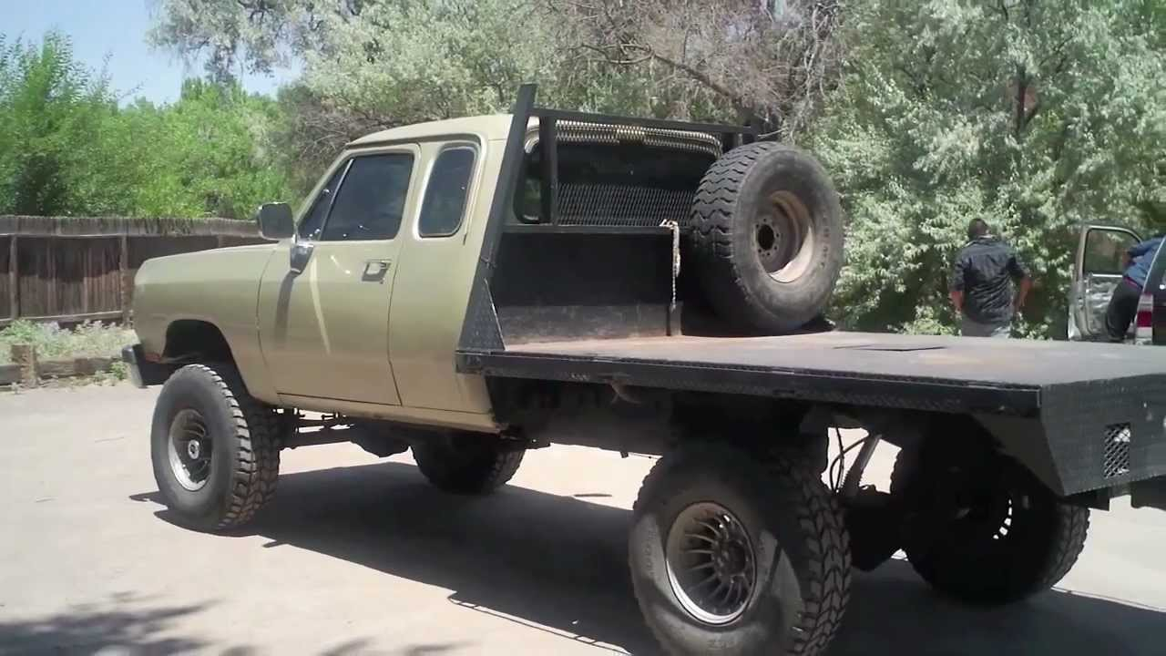 Dodge W250 Cummins 4 By 4 For Sale Call Dave 505 506 9497