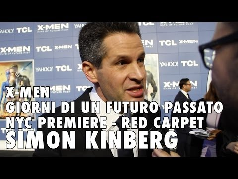X-Men: Days of Future Past NYC premiere - Simon Kinberg talks X-Men: Apocalypse