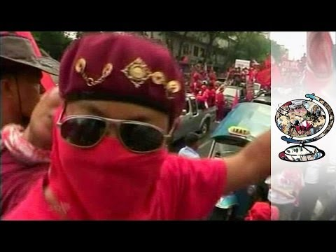 Streets awash with blood as mass protest hits Bangkok