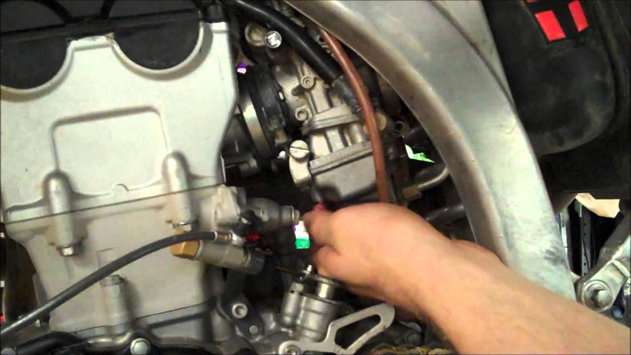How To Set A Kawasaki Kxf Carb Adjustment