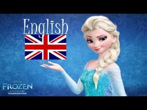 Frozen Let It Go Multilanguage Male Version