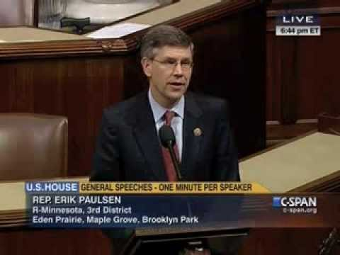 Rep. Paulsen Speaks to Restore Full Time Work to 40 Hours