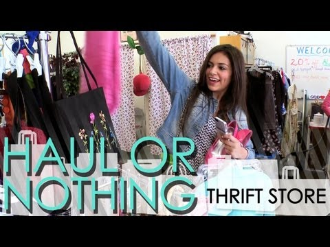 Haul or Nothing - Thrift Store Shopping [Part 1/2]