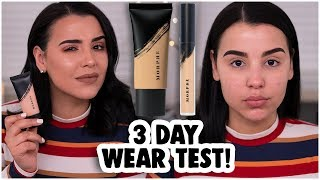 NON-AFFILIATE MORPHE FLUIDITY FOUNDATION & CONCEALER WEAR TEST! HONEST REVIEW!| MakeupByAmarie