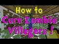 Minecraft Quick Tips - How to Cure Zombie Villagers