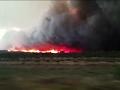 Raw: Fierce Wildfire Burns in Argentina