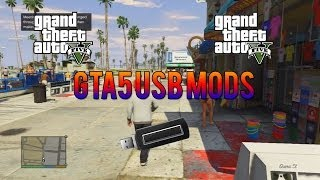 [PS3/XBOX] GTA 5 USB MODS! How To Mod GTA 5 With A USB