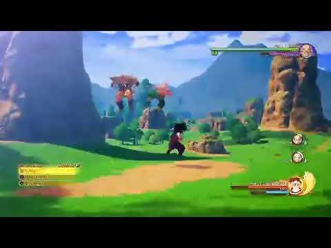 Let's play Dragon Ball Kakarot PL 3