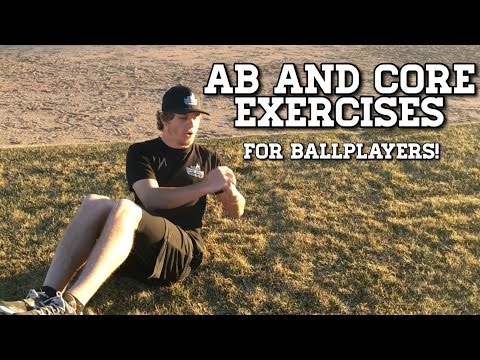 Ab and Core Exercises For Faster Baseball Throwing Velocity!
