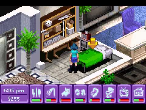 The Urbz - Sims in the City - Urbz, The - Sims in the City (GBA) - User video