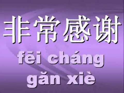 thank you in chinese characters so that you can begin to recognize    How Do You Say Thank You In Chinese