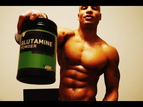 BCAAs and GLUTAMINE For recovery and immune system (Big Brandon Carter)