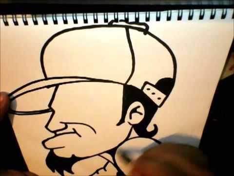 Dibujo graffiti facil , Imagui