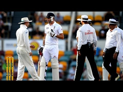 "Michael Clarke vs James Anderson HD ""Get ready for a broken f****** arm"""