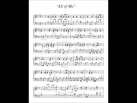 John Legend - All Of Me - Piano Chords Cover