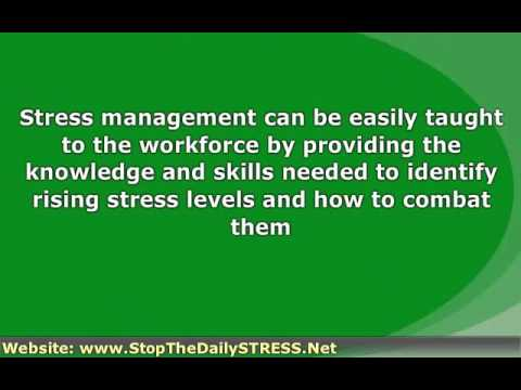 Workplace Stress Management To Overcome Job Stress