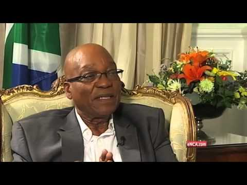 One on one with Jacob Zuma -- Part 1
