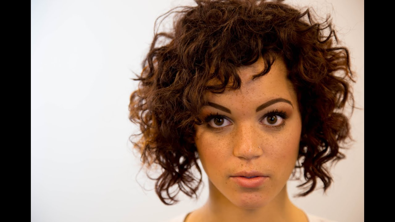 Line Bob Haircut On Curly Hair - On The Road Education - Paul ...
