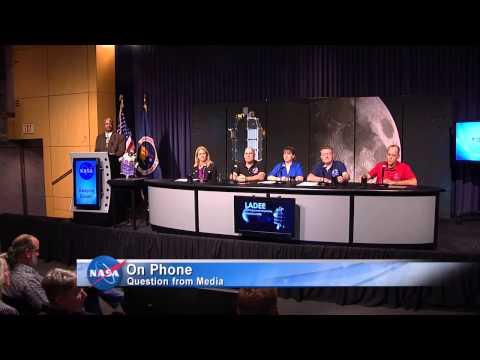 NASA Ames LADEE Mission: NASA Briefing Previews Lunar Mission