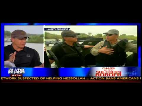 Hannity Interviews Rick Perry At The Border