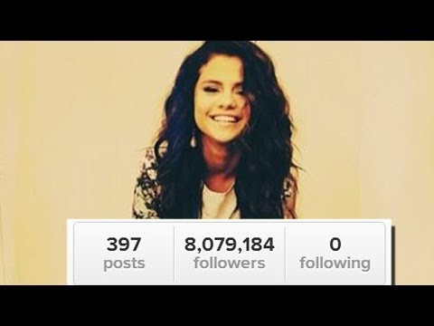 Selena Gomez Unfollows Justin, Taylor, and EVERYONE!