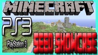 Minecraft Ps3 Seeds Showcase 5 BLACKSMITHS, DIAMONDS, 10