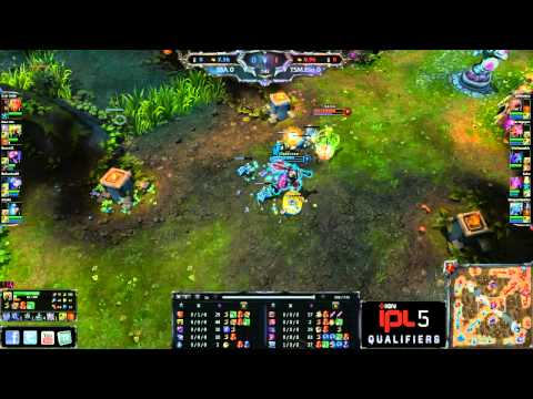 TSM Evo vs Super Special Awesome - Game 1 - IPL5 NA Open Regionals 2 - League of Legends