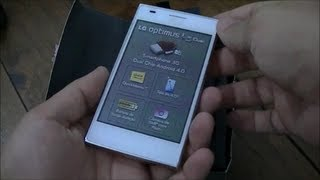 LG Optimus L5 Dual Unboxing