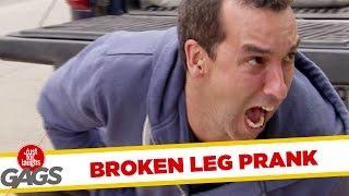 Skryt� kamera - Prelomen� noha