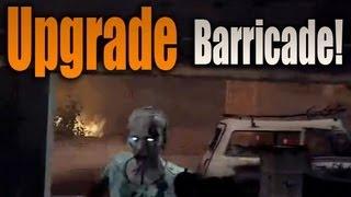 Black Ops 2 Zombies Metal Barricades Upgrade Secret Green