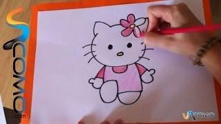 Cómo Dibujar La Hello Kitty How To Draw Hello Kitty