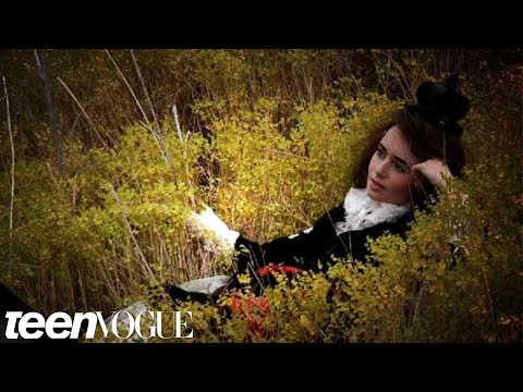 Photos Lily Collins Teen Vogue Interview October 2011 Issue Teen