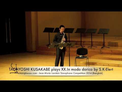 TADAYOSHI KUSAKABE plays XX In modo dorico by S K Elert