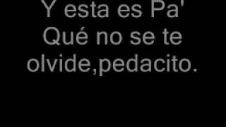 Jenny Rivera-Inolvidable (letra)