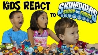 Kids React To Swap Force Characters & Kaos Combinations
