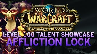 WoW:Warlords Of Draenor Level 100 Affliction Warlock